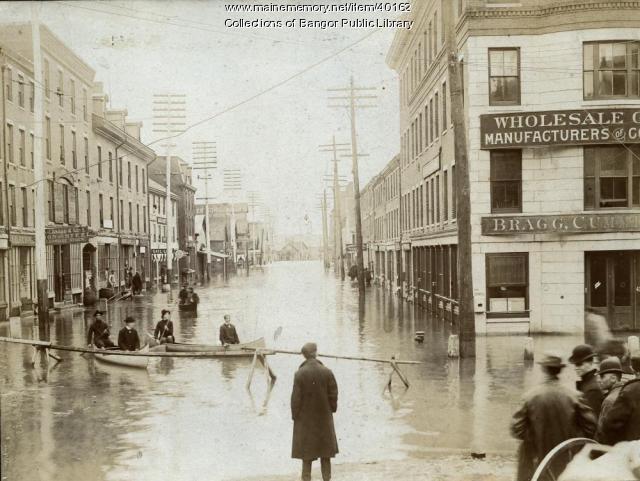 Flood, Bangor, 1902
