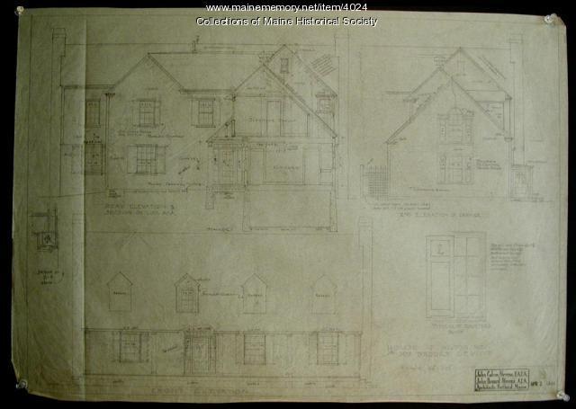 Residence for Mrs. Brooks Leavitt, Wilton, ca. 1935
