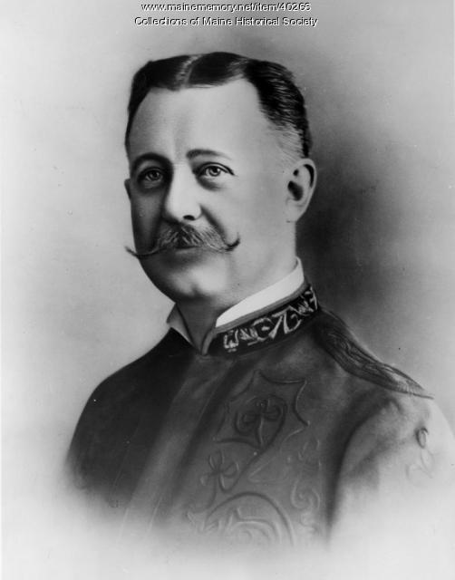 Musician R.B. Hall, ca. 1900