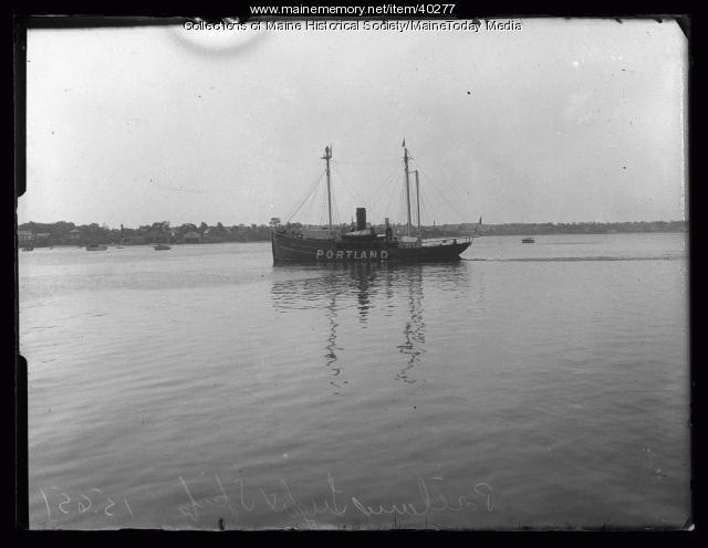 Lightship 'Portland,' Portland, 1927