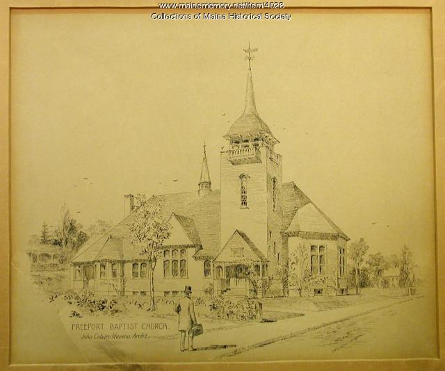 Freeport Baptist Church, 1896