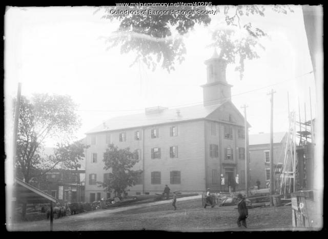 Bangor City Hall before 1893