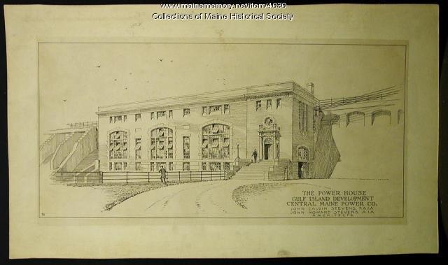 Gulf Island Station plans, ca. 1925