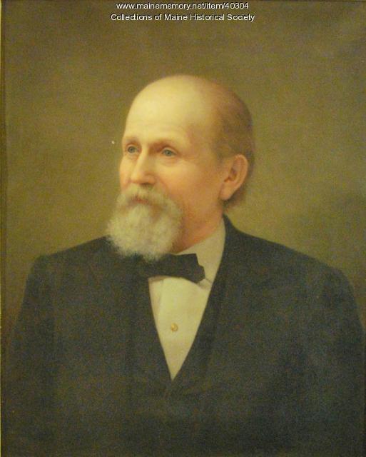 George Burnham, Portland, ca. 1879
