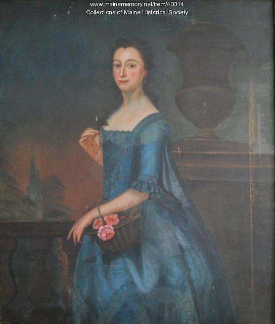 Sally Sayward Barrell, York, ca. 1761