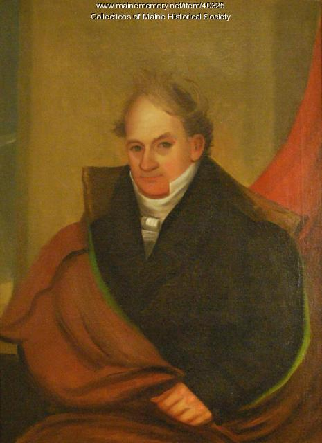 Colonel Isaac Lane, Buxton, ca. 1830