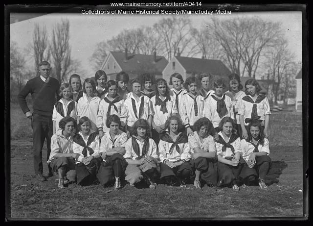 South Portland girls basketball, 1924