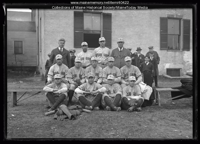 Baseball team, Waterville, 1924
