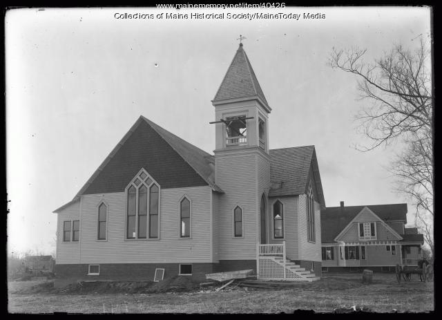 Washington Avenue Methodist Church, Portland, ca. 1920