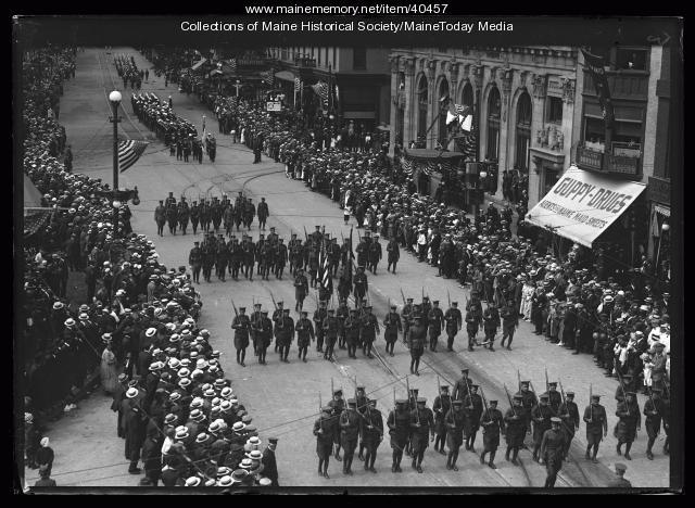 Centennial parade, Portland,  1920