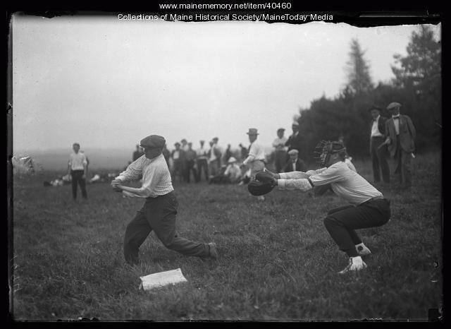 Kiwanis Club baseball game, Scarborough, 1920