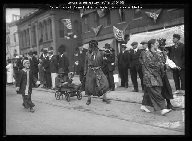 Maine Centennial Parade of Horribles, 1920