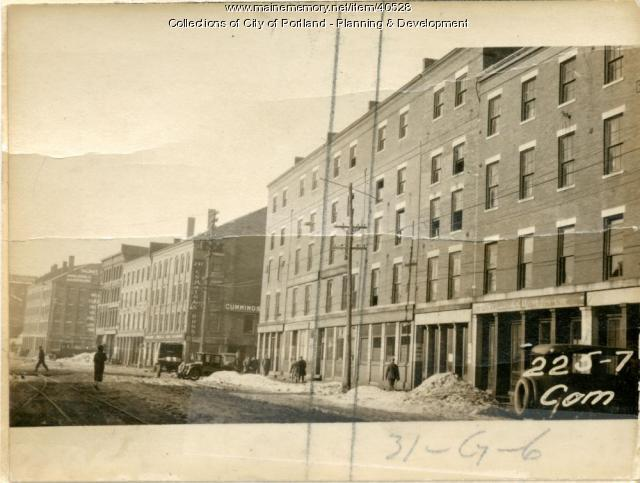 229-231 Commercial Street, Portland, 1924