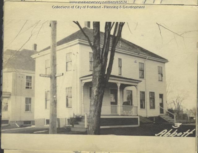 3 Abbott Street, Portland, 1924