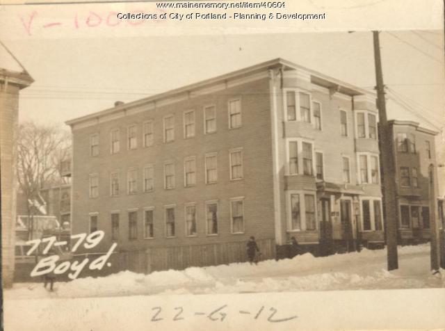 45-47 Boyd Street, Portland, 1924