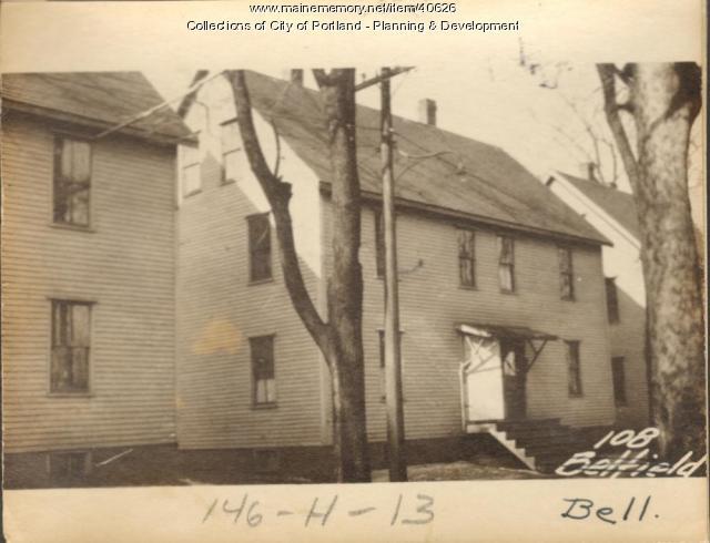 106-108 Bell Street, Portland, 1924