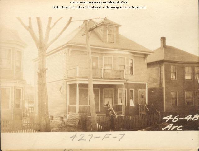 46 Arcadia Street, Portland, 1924
