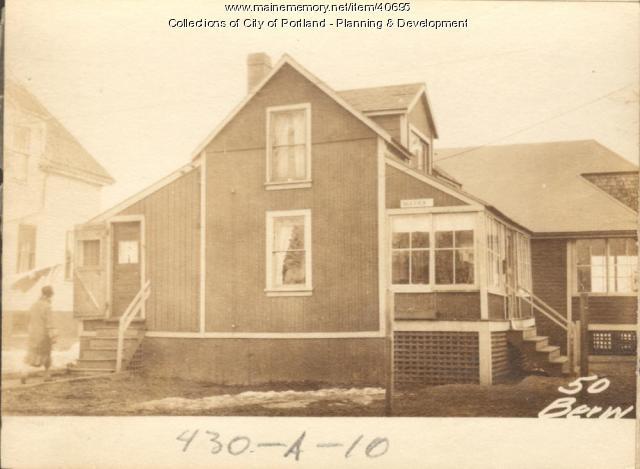 50 Berwick Street, Portland, 1924