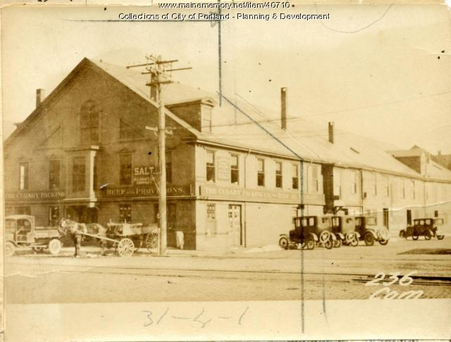 228-232 Commercial Street, Portland, 1924