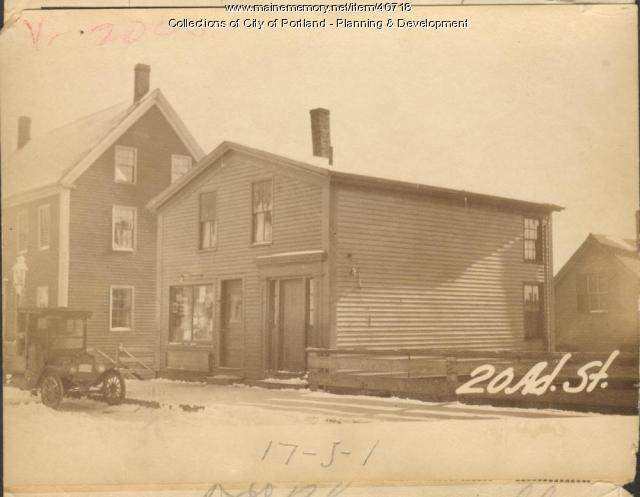 20-22 Adams Street, Portland, 1924