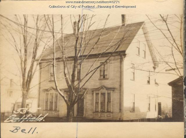 53 Bell Street, Portland, 1924