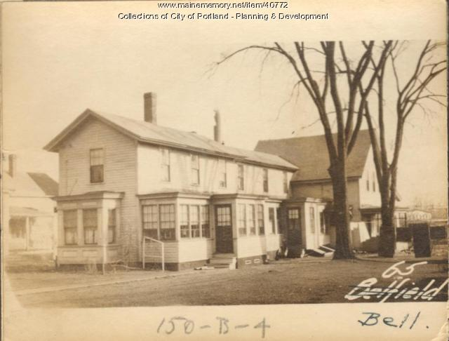67 Bell Street, Portland, 1924