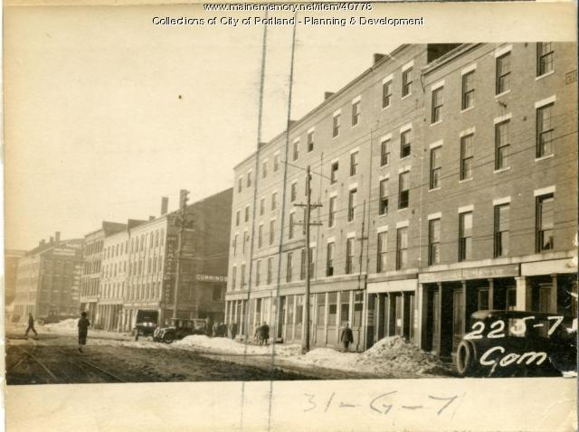 233 Commercial Street, Portland, 1924