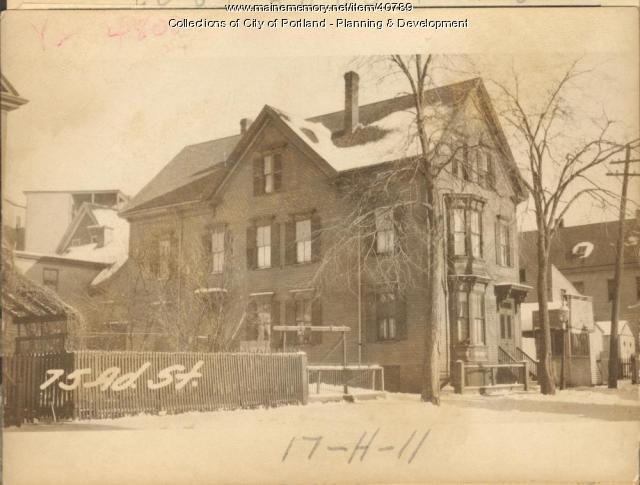75-77 Adams Street, Portland, 1924