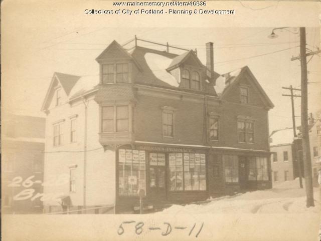 26-28 Brackett Street, Portland, 1924
