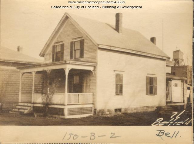 71 Bell Street, Portland, 1924