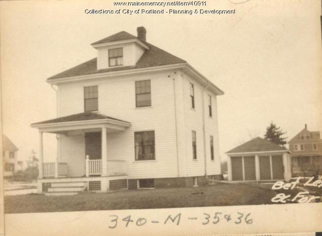 Dwelling, Arthur Street, Portland, 1924