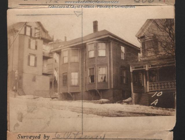 8 A Street, Portland, 1924