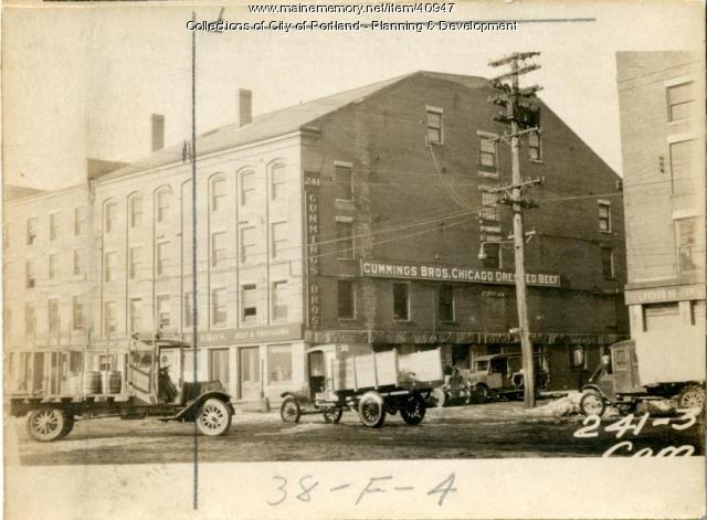 241-243 Commercial Street, Portland, 1924