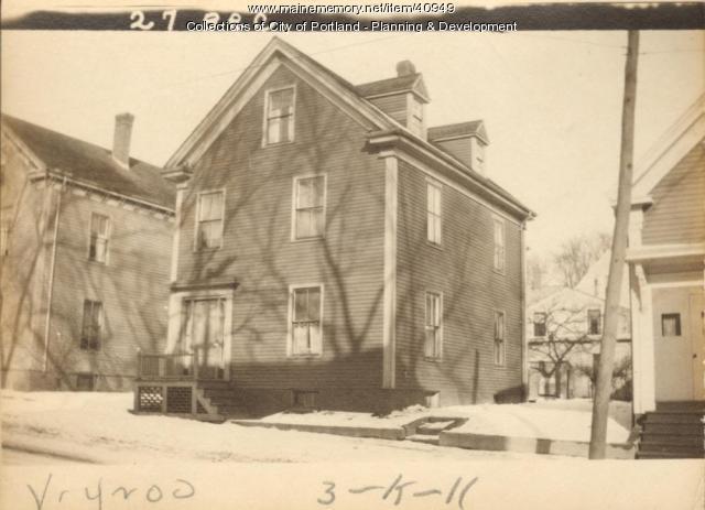 25-27 Beckett Street, Portland, 1924