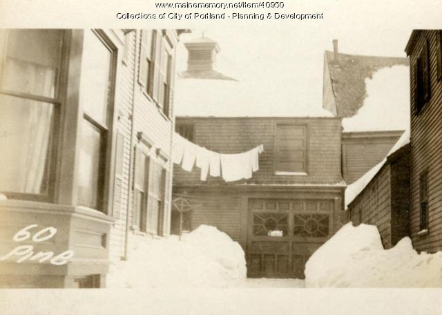 60 Pine Street, Portland, 1924