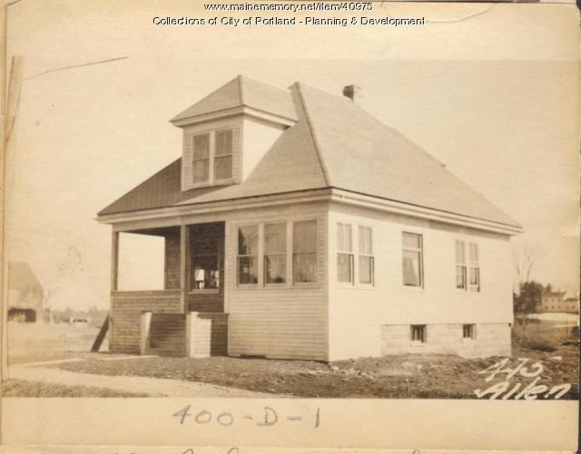 469 Allen Avenue, Portland, 1924