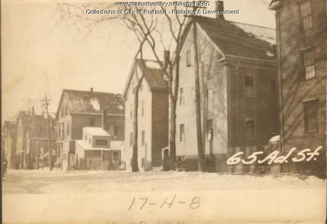 63-65 Adams Street, Portland, 1924