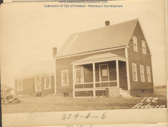 162 Auburn Street, Portland, 1924