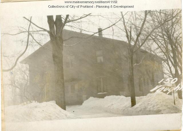 168-178 Pine Street, Portland, 1924
