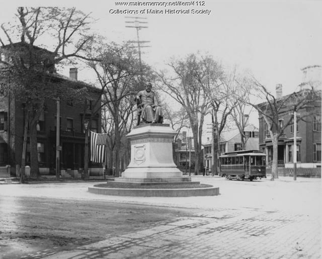 Statue of Henry Wadsworth Longfellow, Portland