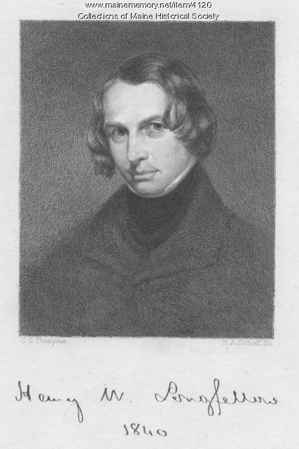 Henry Wadsworth Longfellow, 1840
