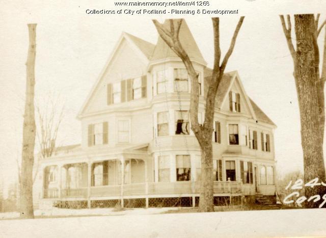 1245 Congress Street, Portland, 1924