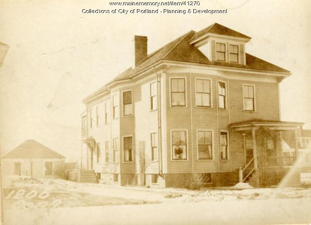 1206 Congress Street, Portland, 1924