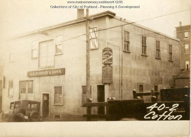 40-44 Cotton Street, Portland, 1924