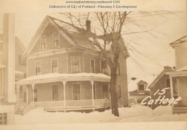 15 Cottage Street, Portland, 1924