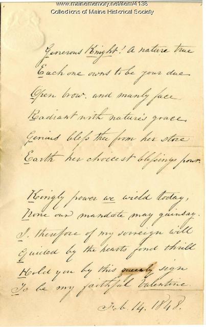 G. H. Knight valentine