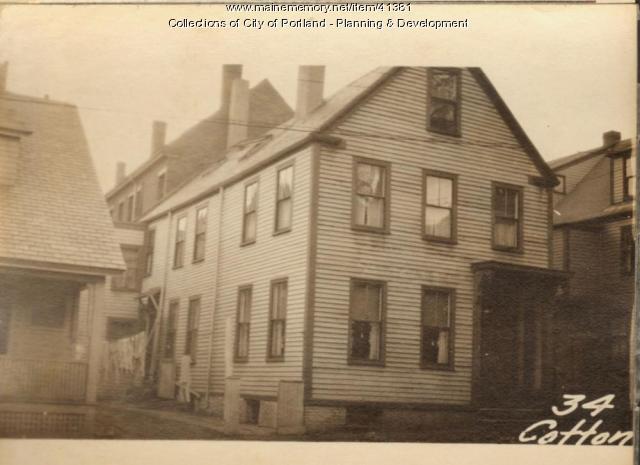 34 Cotton Street, Portland, 1924