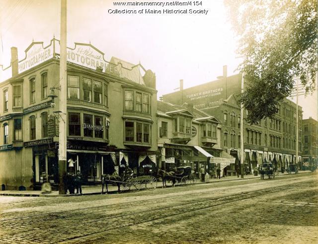 Congress Street, Portland, ca. 1880