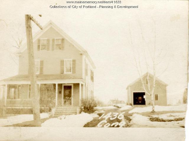 1436 Congress Street, Portland, 1924