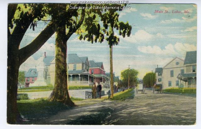 Main Street, Lubec, ca. 1905